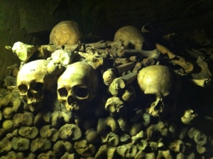 Paris catacombs / Photo by Ilana DeBare