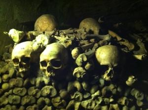 Paris catacombs / Photo by Ilana DeBare