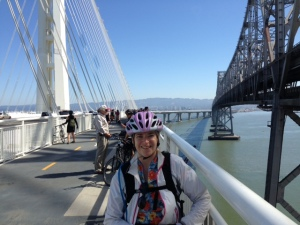 Me on the bridge / Photo by Sam Schuchat