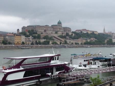 Sam's photo of the Danube and castle