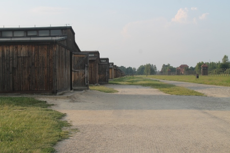 Barracks at Birkenau / Photo by Ilana DeBare