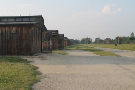 Barracks at Birkenau / Photo by Ilana DeBare