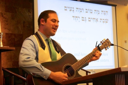 Rabbi Yoni Regev considered becoming a cantor before he became a rabbi.