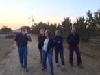 Touring Naylor's organic peach farm